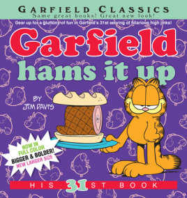 Garfield Hams It Up