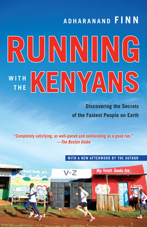 The cover of the book Running with the Kenyans