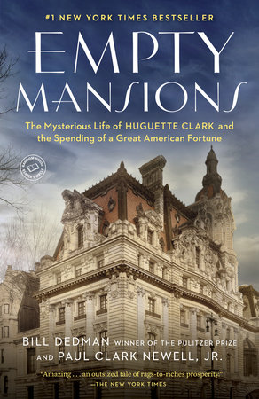 The cover of the book Empty Mansions