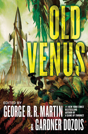 The cover of the book Old Venus