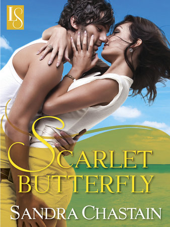 Scarlet Butterfly by Sandra Chastain