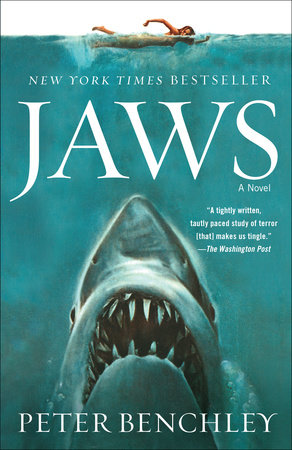 The cover of the book Jaws