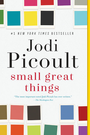 The cover of the book Small Great Things