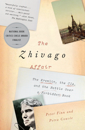 The cover of the book The Zhivago Affair