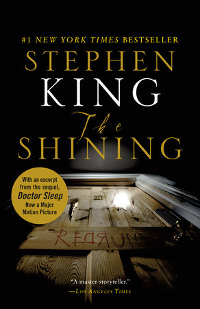 The cover of the book The Shining