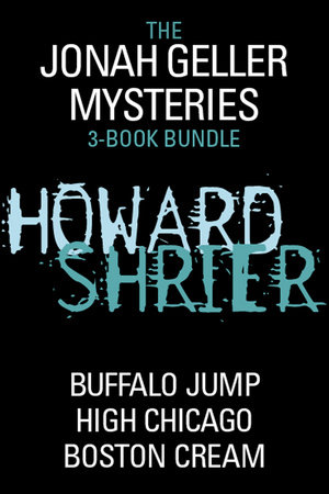 Jonah Geller Mysteries 3-Book Bundle by Howard Shrier