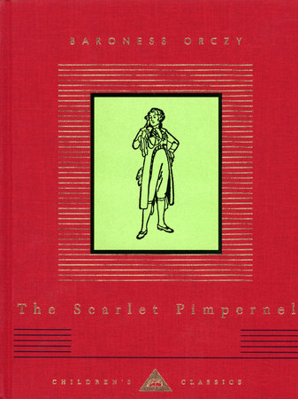 The cover of the book The Scarlet Pimpernel
