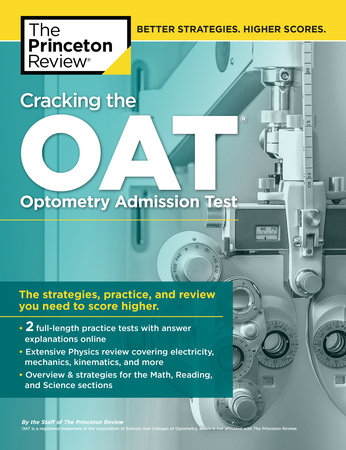 Cracking the OAT (Optometry Admission Test) by Princeton Review