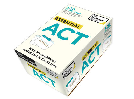Essential ACT (flashcards) by Princeton Review