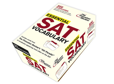 Essential SAT Vocabulary (flashcards) by Princeton Review