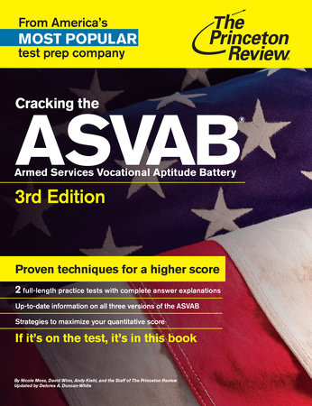Cracking the ASVAB, 3rd Edition by Princeton Review
