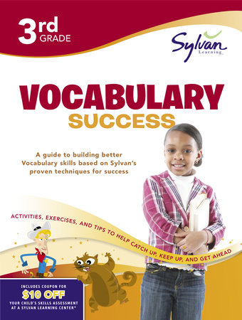 Third Grade Vocabulary Success (Sylvan Workbooks) by Sylvan Learning