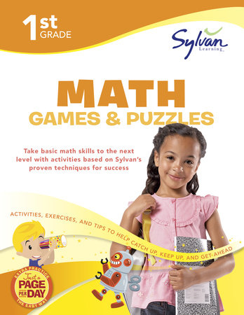 1st Grade Math Games and Puzzles by Sylvan Learning