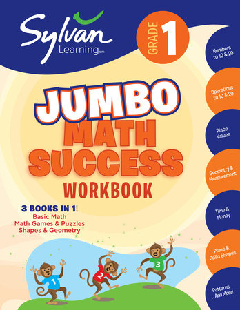 1st Grade Super Math Success by Sylvan Learning