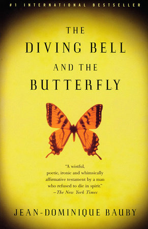 The cover of the book The Diving Bell and the Butterfly