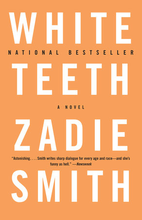 The cover of the book White Teeth