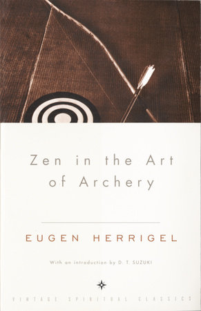 The cover of the book ZEN IN THE ART OF ARCHERY