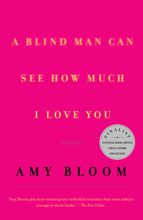 A Blind Man Can See How Much I Love You by Amy Bloom