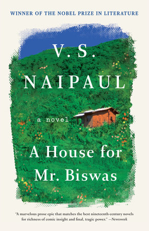 A HOUSE FOR MR. BISWAS Book Cover Picture
