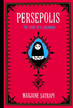 The cover of the book Persepolis
