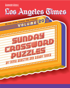 Los Angeles Times Sunday Crossword Puzzles, Volume 29