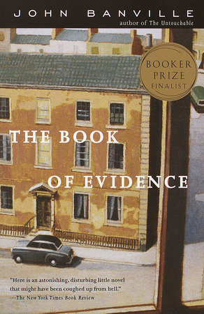 The cover of the book The Book of Evidence