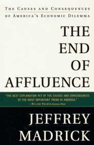 The End of Affluence