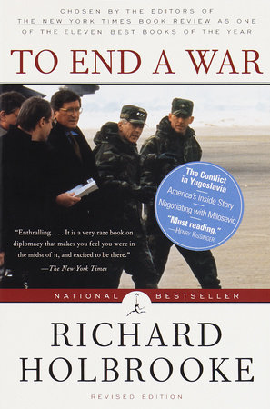 To End a War by Richard Holbrooke