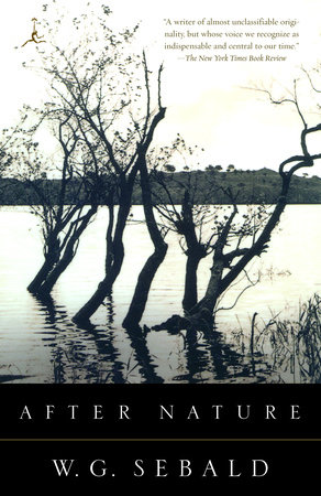 After Nature by W.G. Sebald