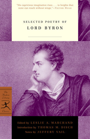 Selected Poetry of Lord Byron by Lord George G. Byron