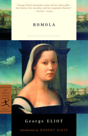 The cover of the book Romola