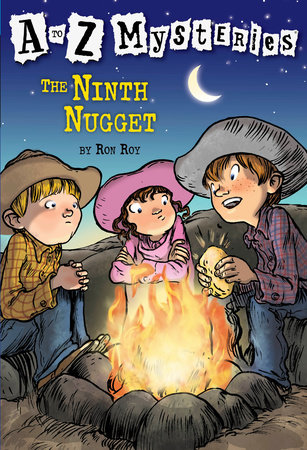 A to Z Mysteries: The Ninth Nugget by Ron Roy