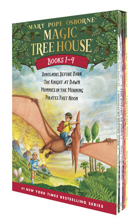 Magic Tree House Volumes 1-4 Boxed Set by Mary Pope Osborne