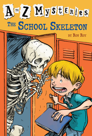A to Z Mysteries: The School Skeleton by Ron Roy