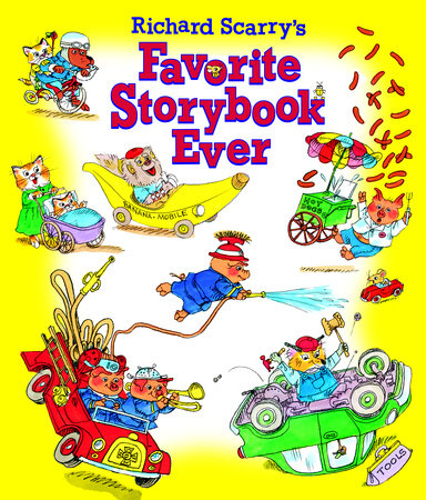Richard Scarry's Favorite Storybook Ever by Golden Books