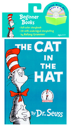 The Cat in the Hat Book & CD by Dr. Seuss
