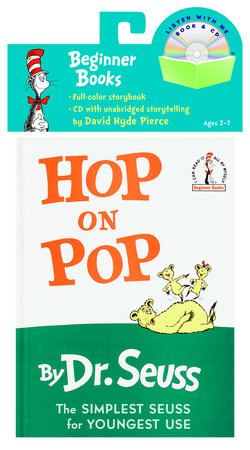 Hop on Pop Book & CD by Dr. Seuss