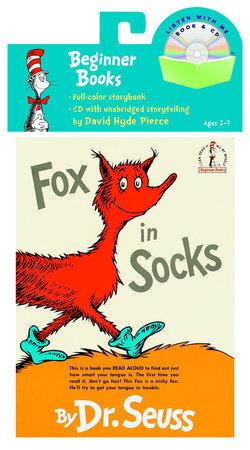 Fox in Socks Book & CD by Dr. Seuss
