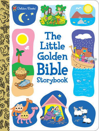 The Little Golden Bible Storybook by S. Simeon