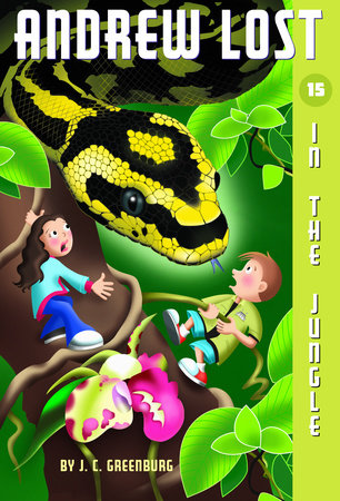 Andrew Lost #15: In the Jungle by J.C. Greenburg
