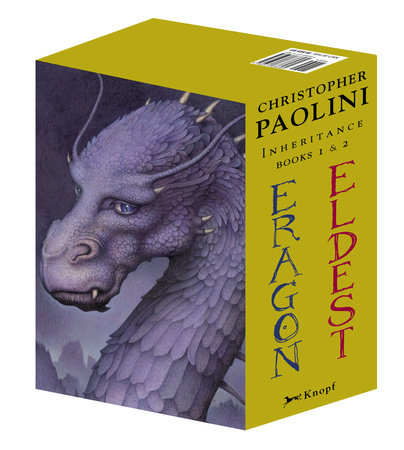 Eldest/Eragon boxed set by Christopher Paolini