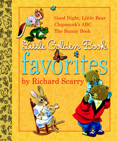 Little Golden Book Favorites by Richard Scarry by