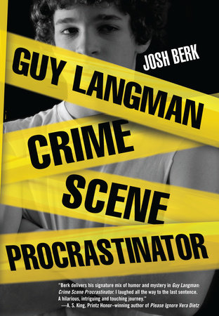 Guy Langman, Crime Scene Procrastinator by Josh Berk