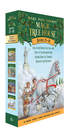 Magic Tree House Volumes 13-16 Boxed Set by Mary Pope Osborne