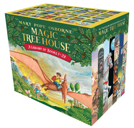 The Magic Tree House Library: Books 1-28 by Mary Pope Osborne