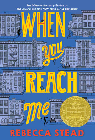 The cover of the book When You Reach Me