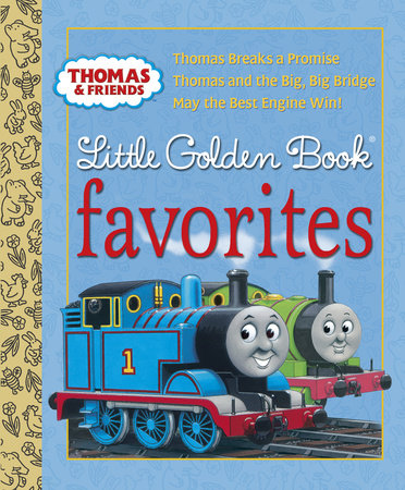 Thomas & Friends: Little Golden Book Favorites (Thomas & Friends) by Various