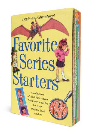 Favorite Series Starters Boxed Set by J. C. Greenburg, Mary Pope Osborne, Barbara Park, Ron Roy and Marjorie Weinman Sharmat