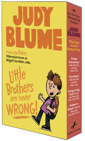 The Pain and the Great One Quartet Box Set by Judy Blume