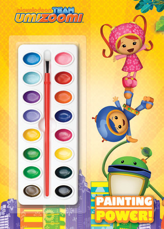 Painting Power! (Team Umizoomi) by Golden Books
